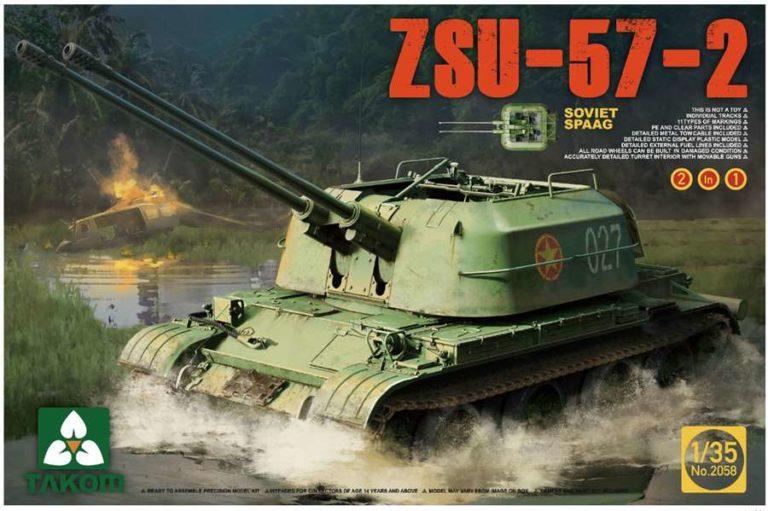 ZSU-57-2 by TAKOM
