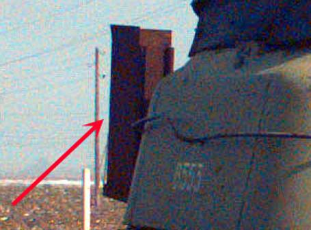 ZSU-57, rear structure