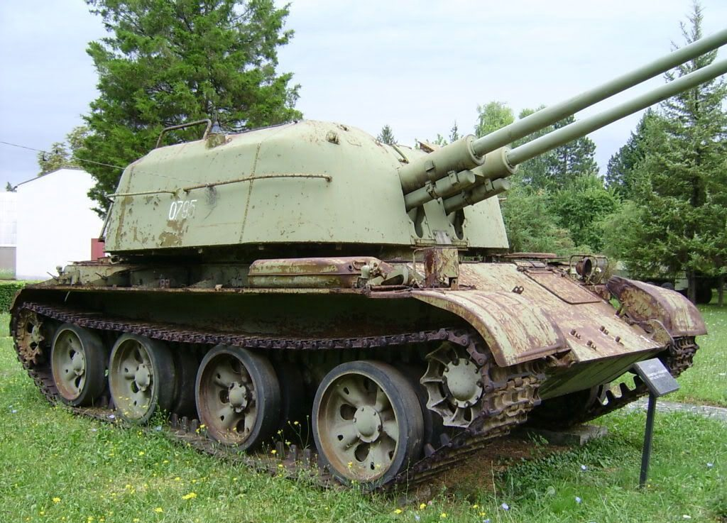 Another Serbian ZSU-57-2