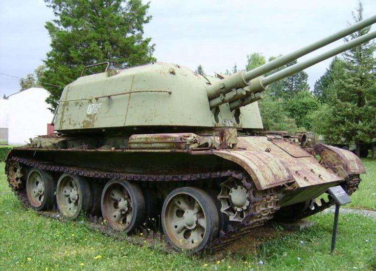 Another Serbian ZSU-57-2