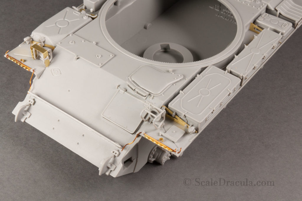 Details of fenders 1, ZSU-57 by TAKOM