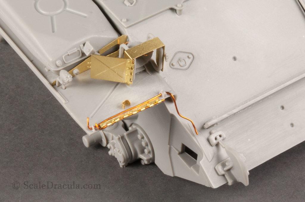 Details of fenders 2, ZSU-57 by TAKOM