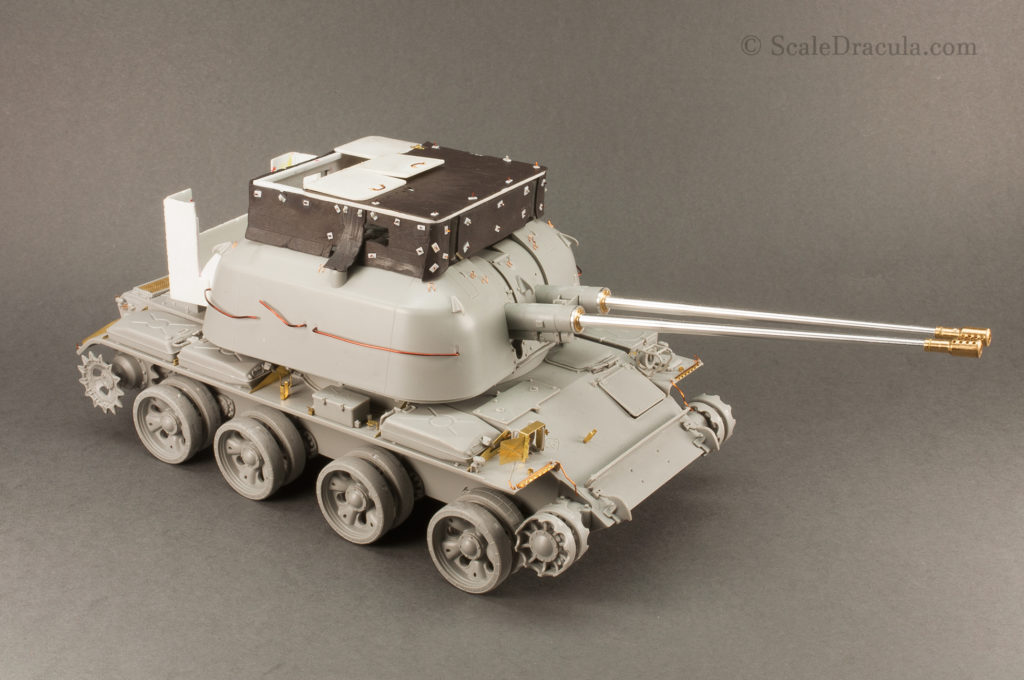 The construction is complete, ZSU-57 by TAKOM