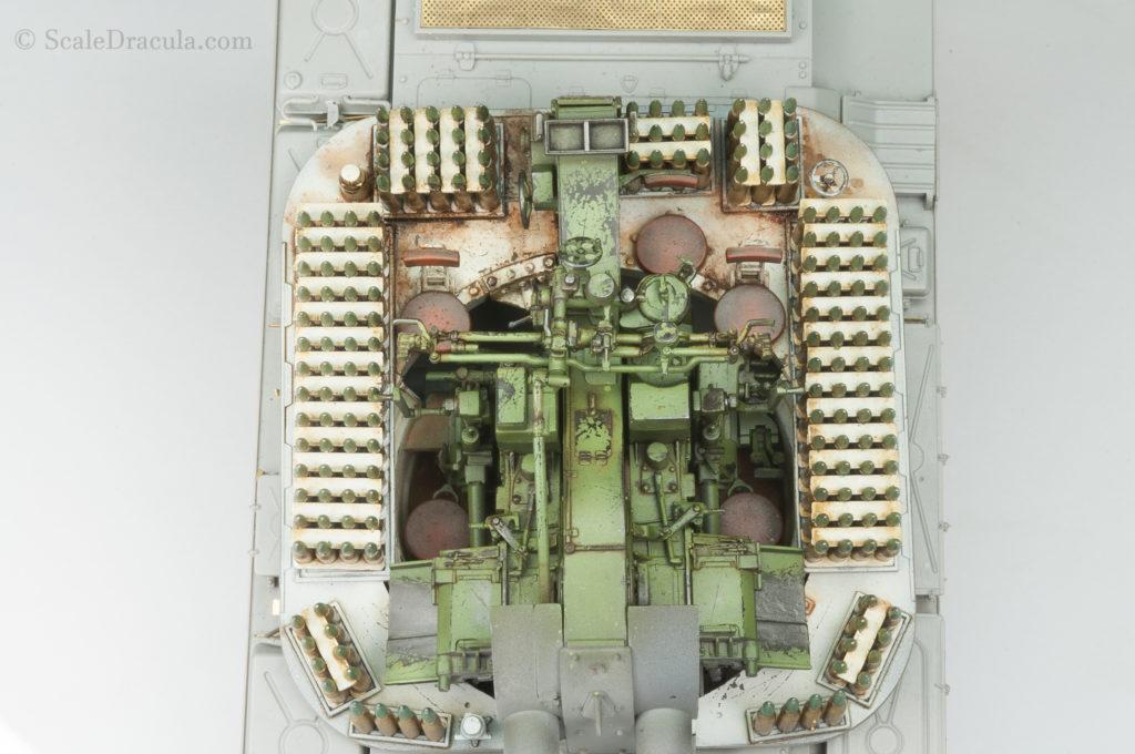 Finished interior, ZSU-57 by TAKOM
