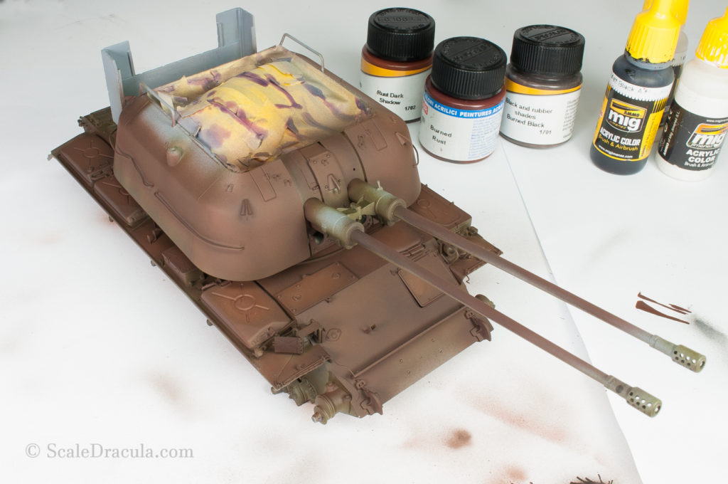 The layer of rust color, ZSU-57 by TAKOM