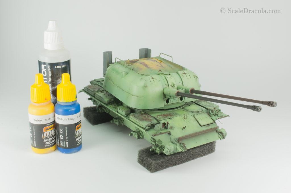 Acrylic filter with Transparator, ZSU-57 by TAKOM