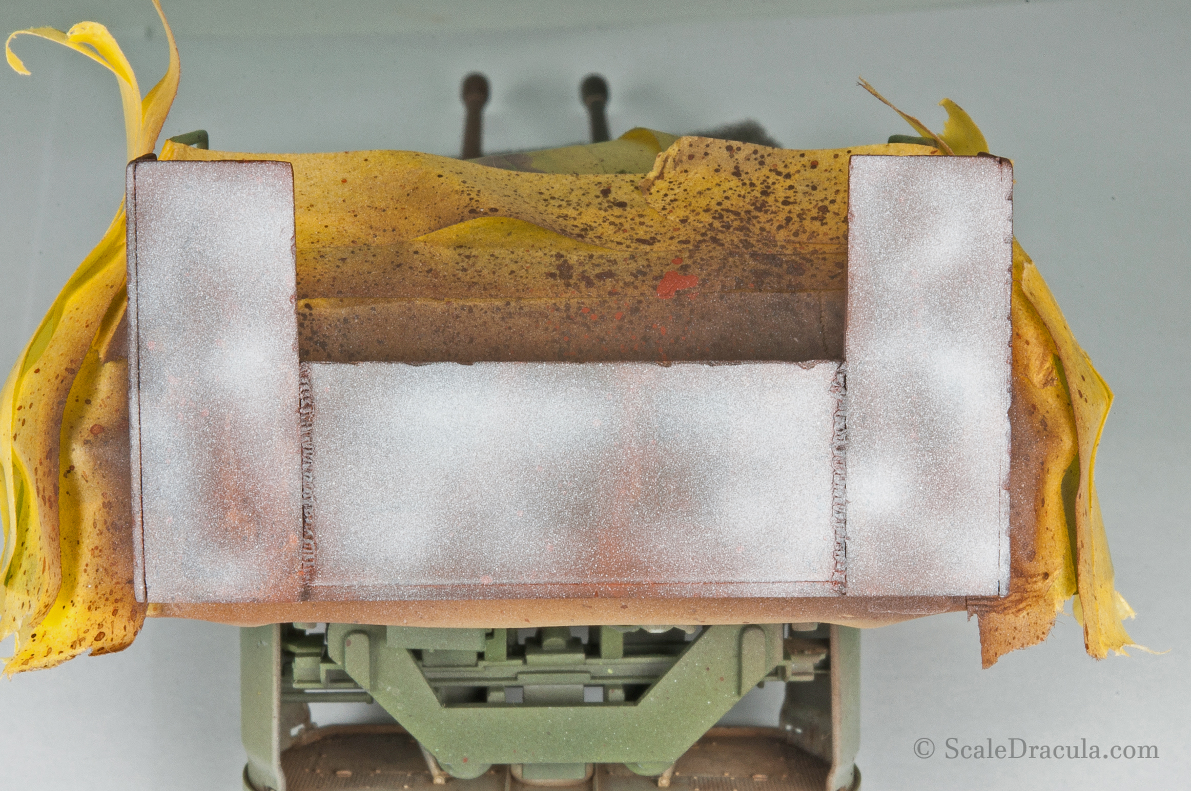 Initial layer for rust, ZSU-57 by TAKOM