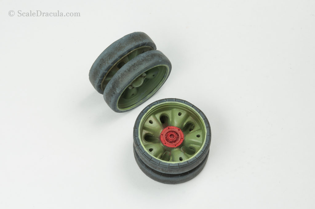 ZSU-57 painted wheels