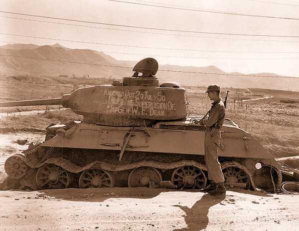 T-34 Korean war