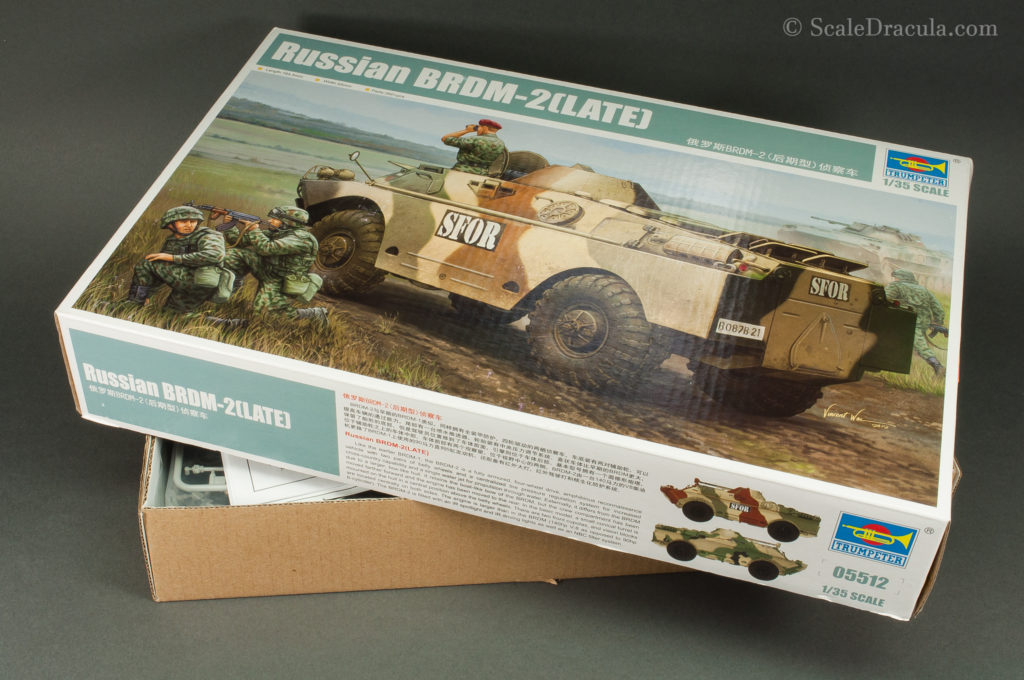 BRDM-2 late, kit by TRUMPETER