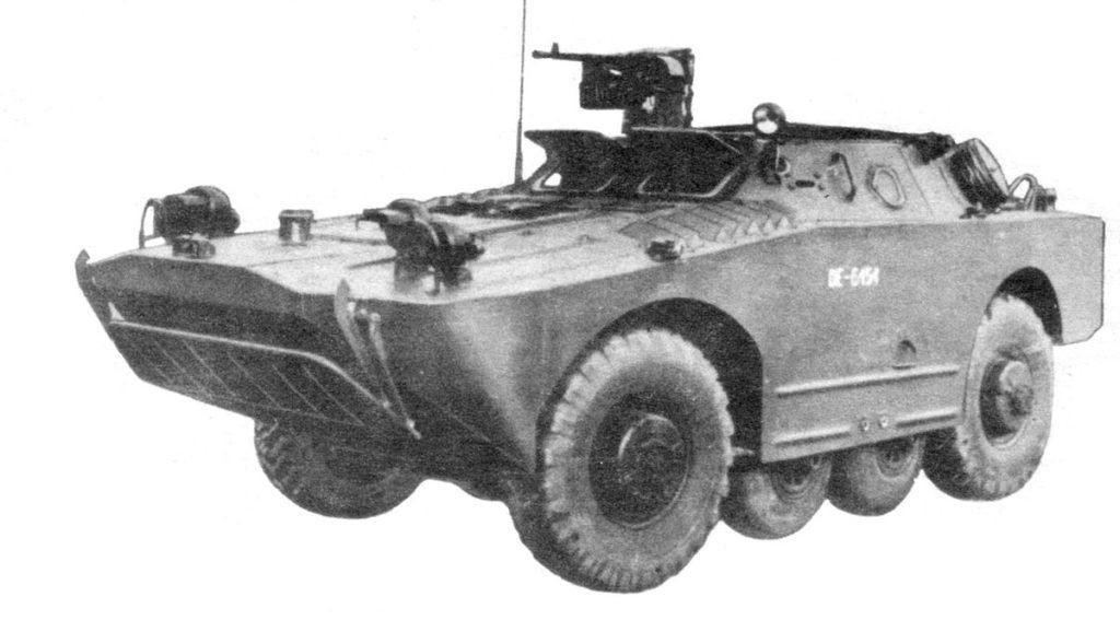 BRDM-1 scout car