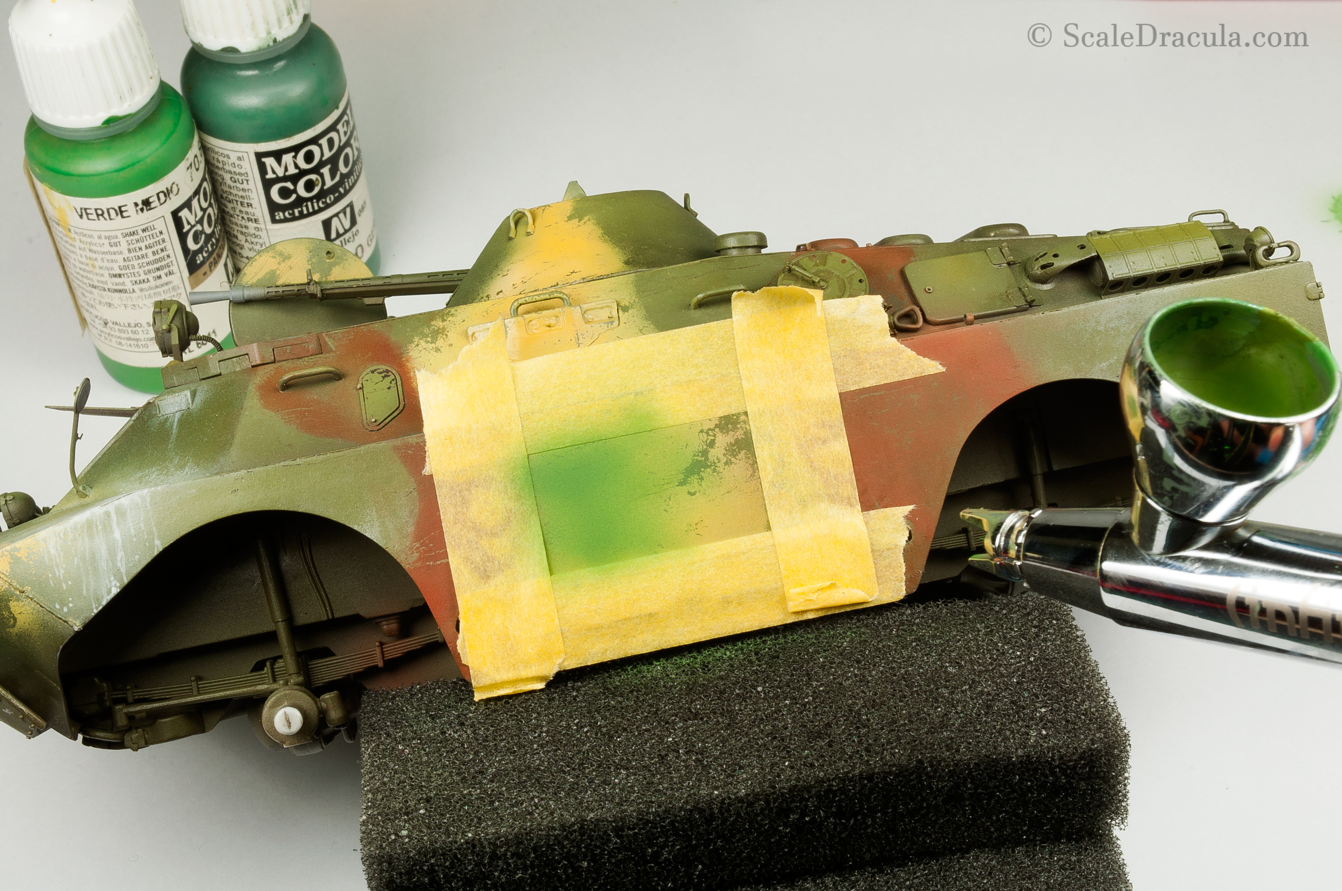Painting with Vallejo colours, BRDM-2 by Trumpeter