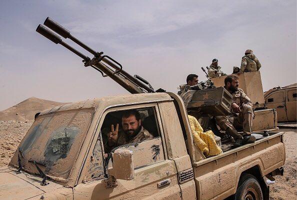 Technicals in Libya