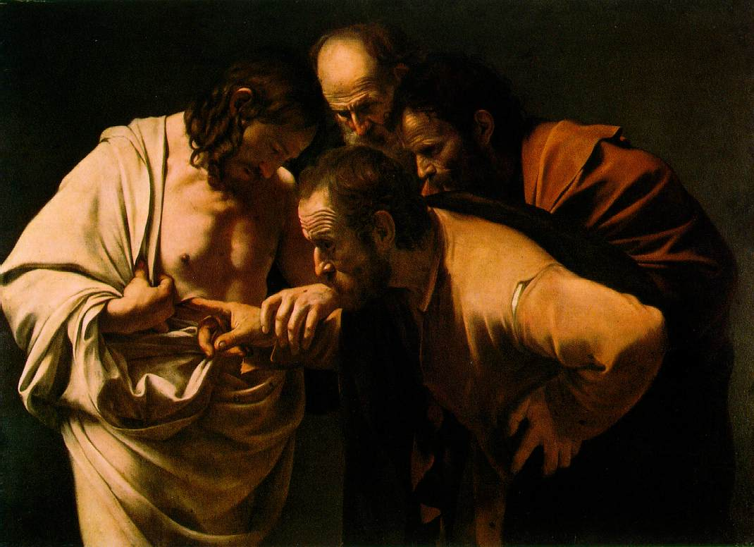 The Incredulity of Saint Thomasby Caravaggio