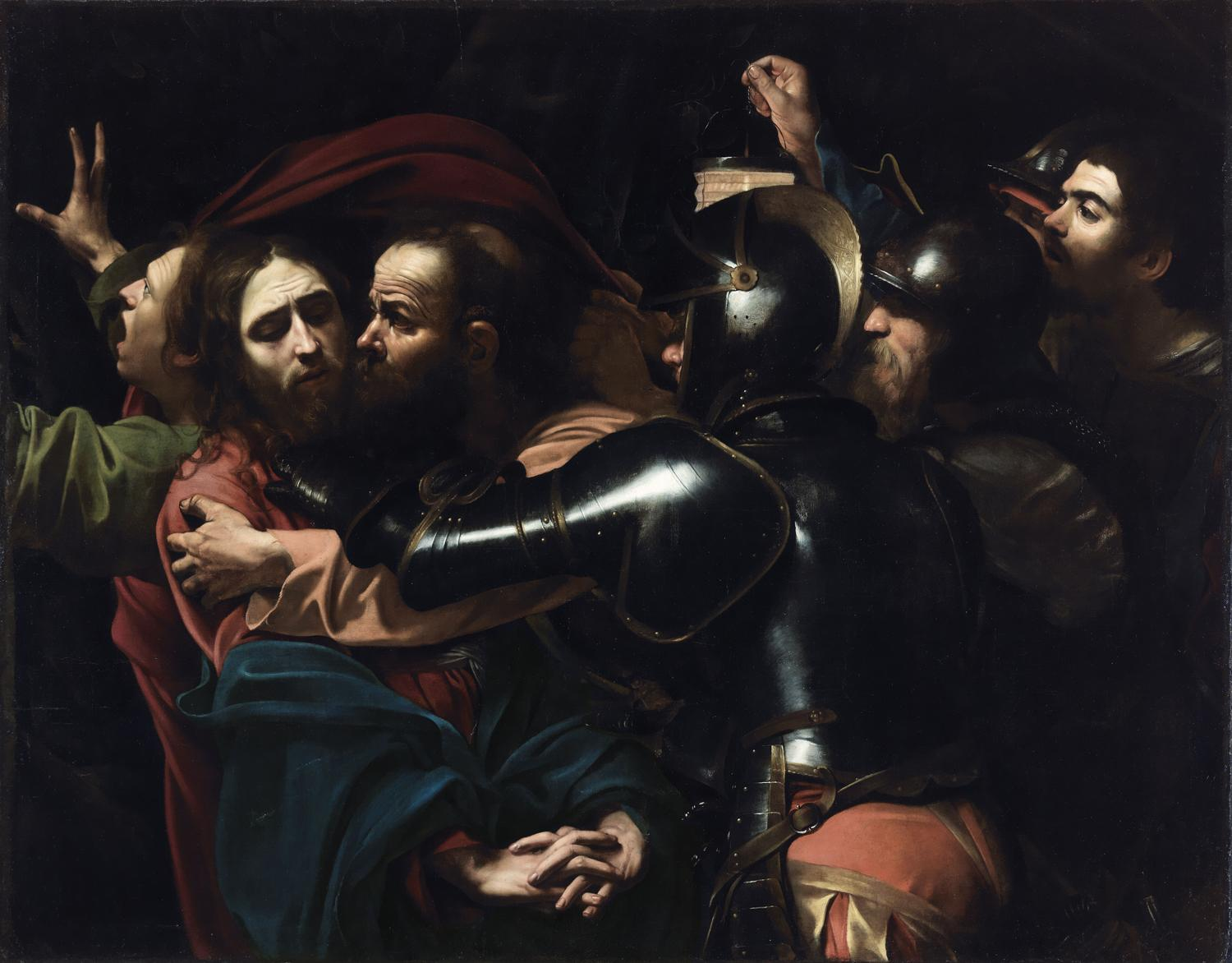 Taking of the Christ by Caravaggio