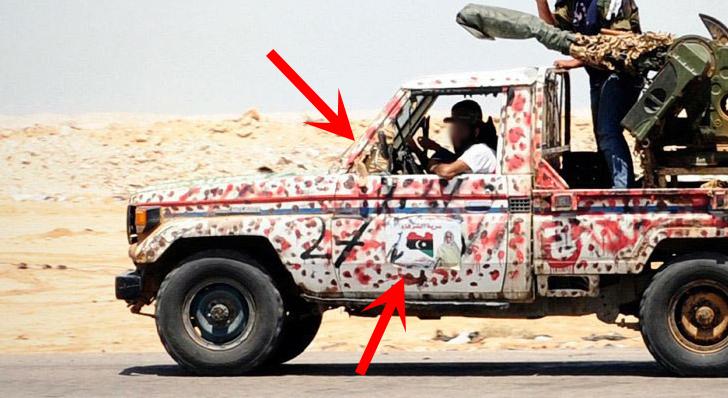 Toyota Land Cruiser Technical in Libya