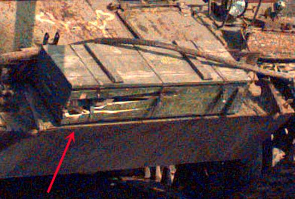 ZSU-57 front ammo box