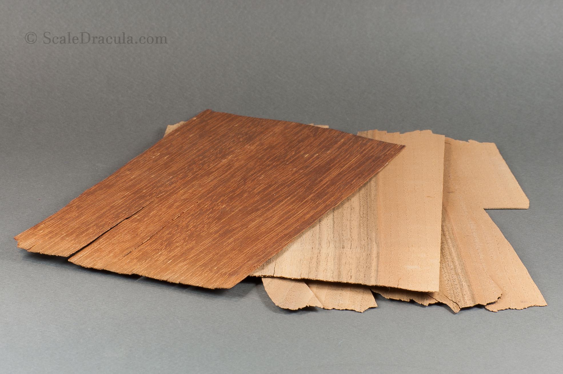 Veneer is a versatile modelling material
