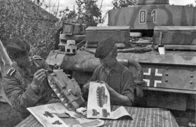 German tankers making KV-1 model