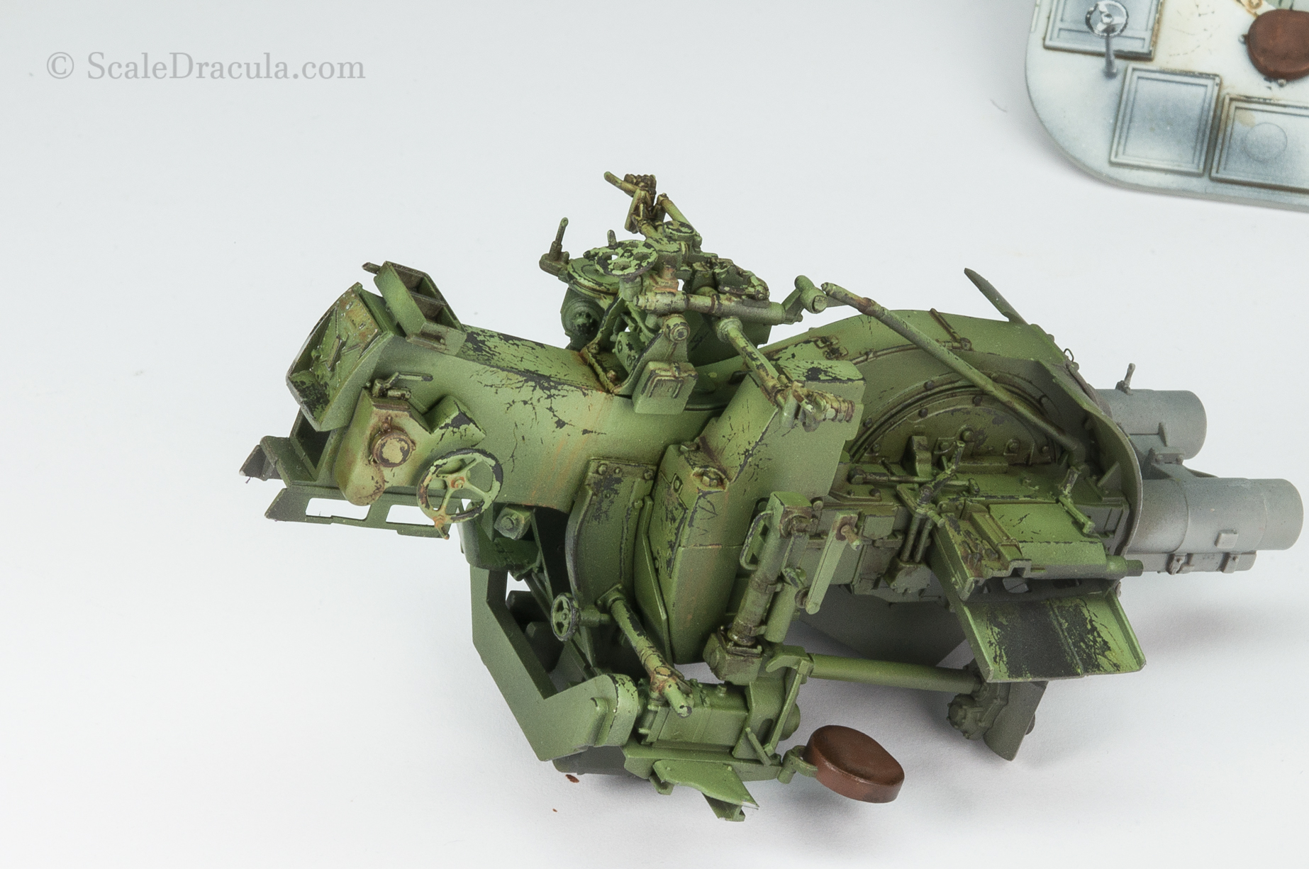 Ammo enamel washes, ZSU-57 by TAKOM