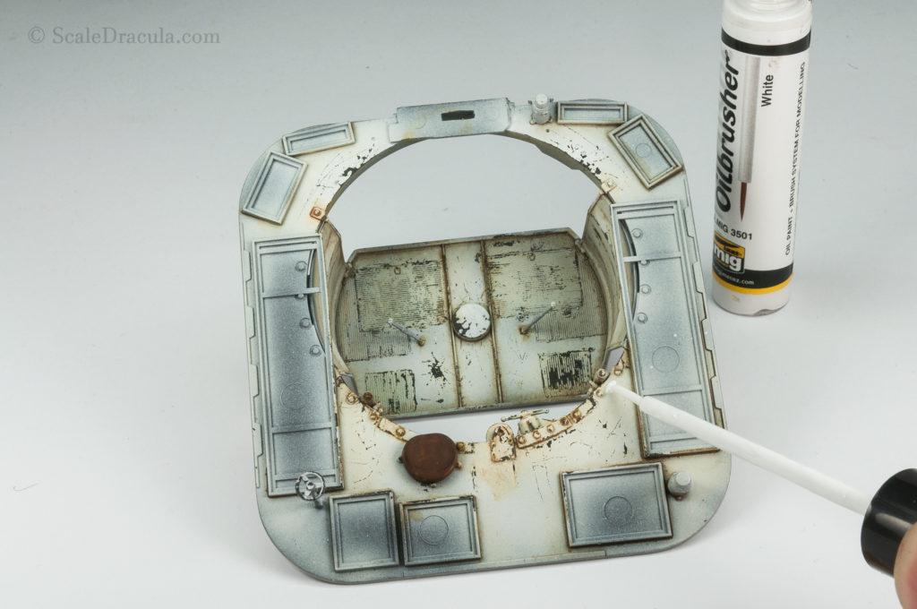 White Ammo Mig oilbrusher, ZSU-57 by TAKOM