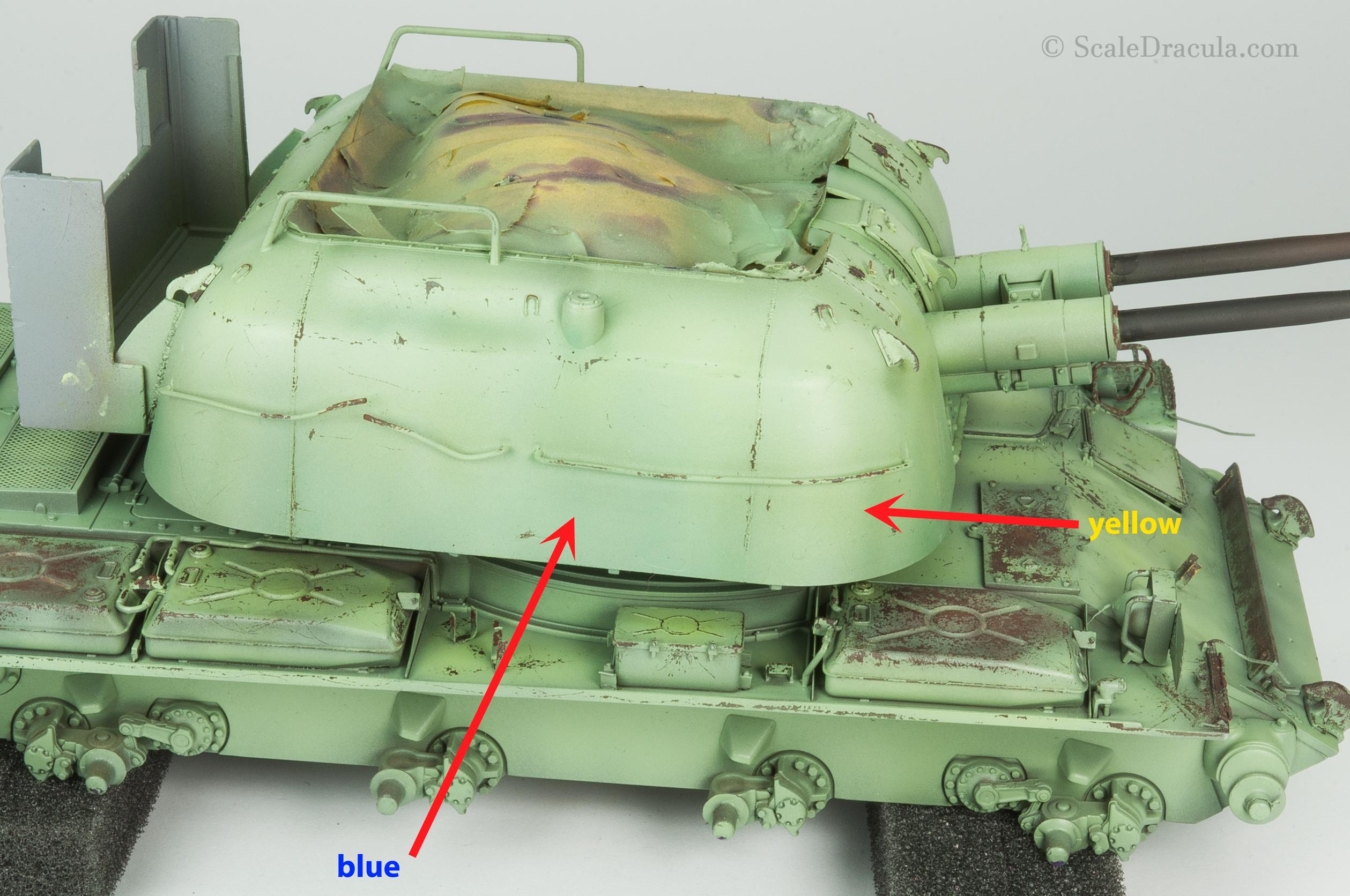 Acrylic filter, ZSU-57 by TAKOM