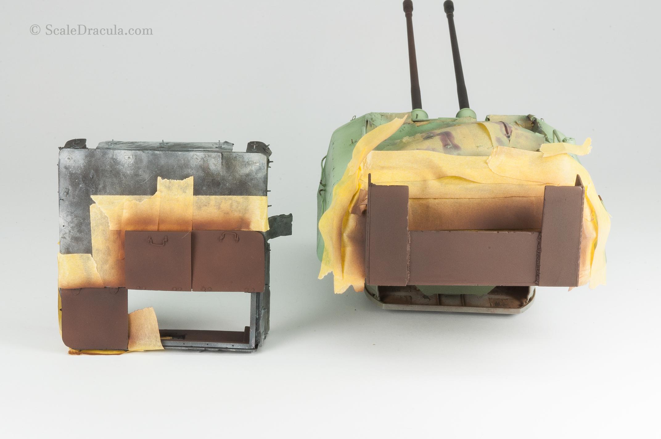 Rust base colour, ZSU-57 by TAKOM