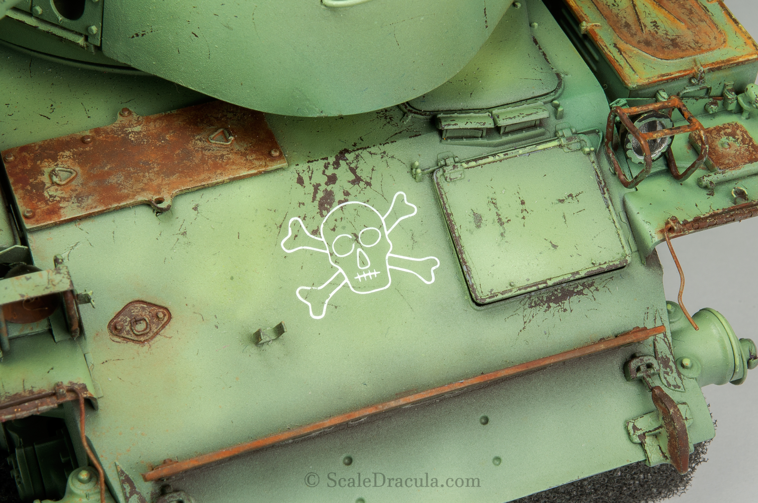 The decal is finished, ZSU-57 by TAKOM