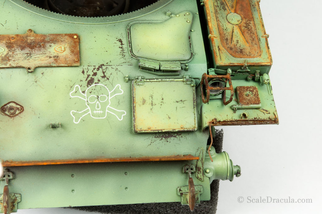 Yellow rust residue, ZSU-57 by TAKOM