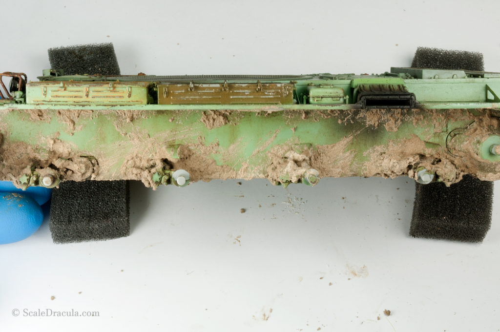 Mud textured with a sponge, ZSU-57 by TAKOM