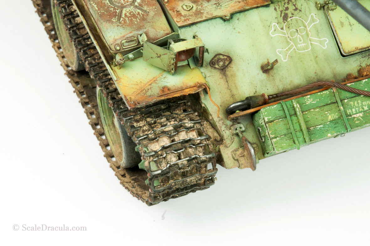 How to: paint and weather tank tracks – ScaleDracula