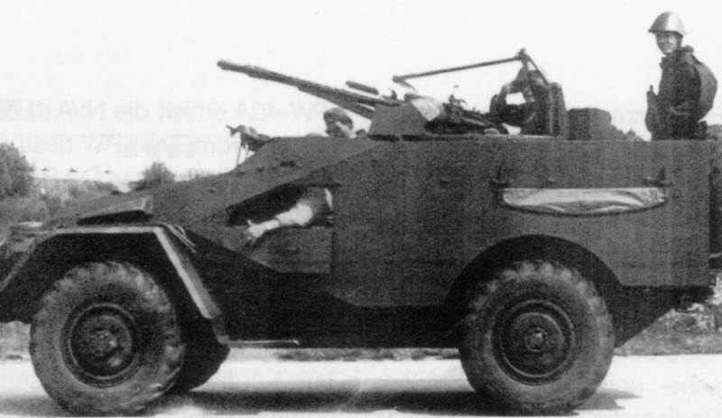 BTR-40 scout car