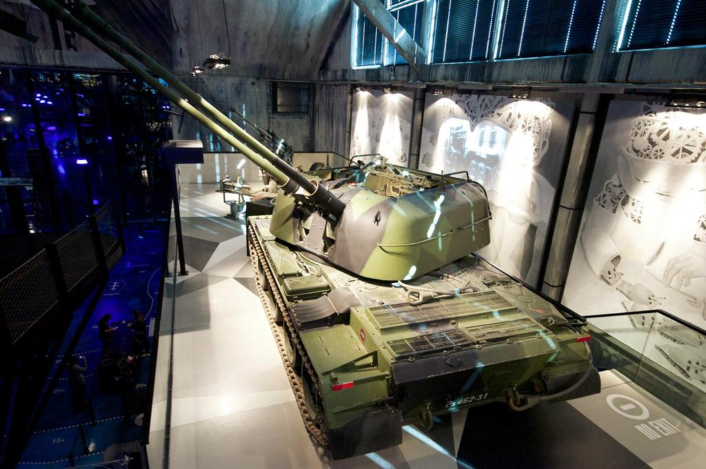 ZSU-57-2 in Tallinn, Estonian Maritime Museum