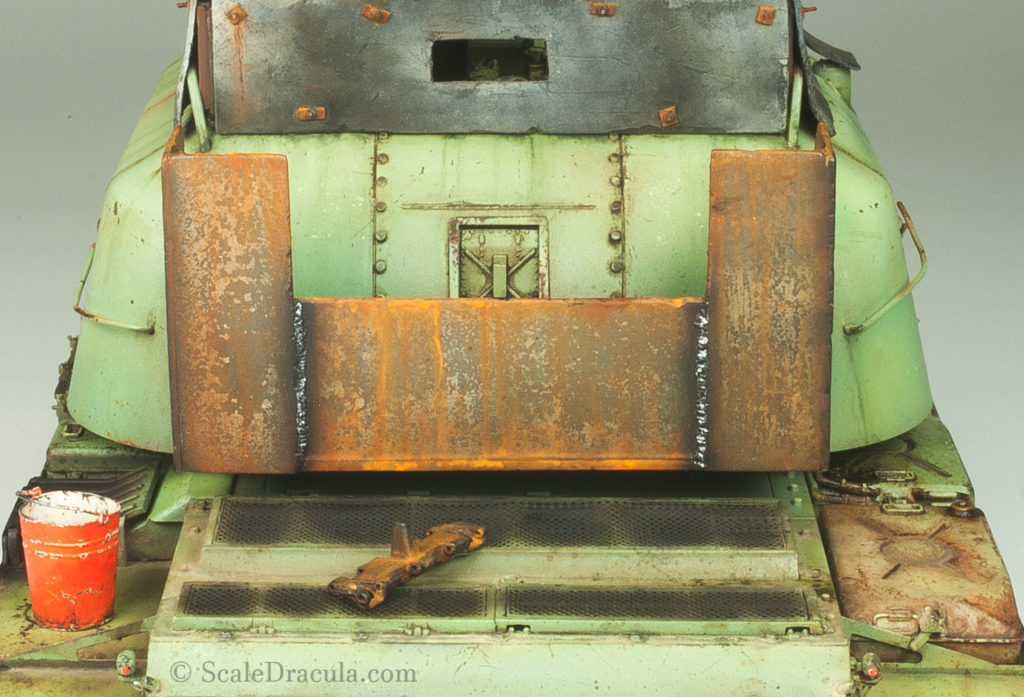 Painted weld marks, ZSU-57 by TAKOM