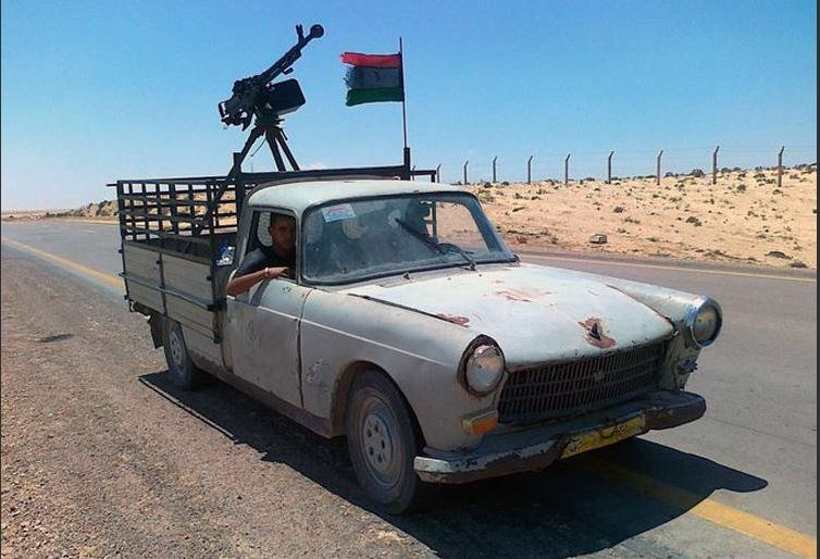 Technicals in Libya