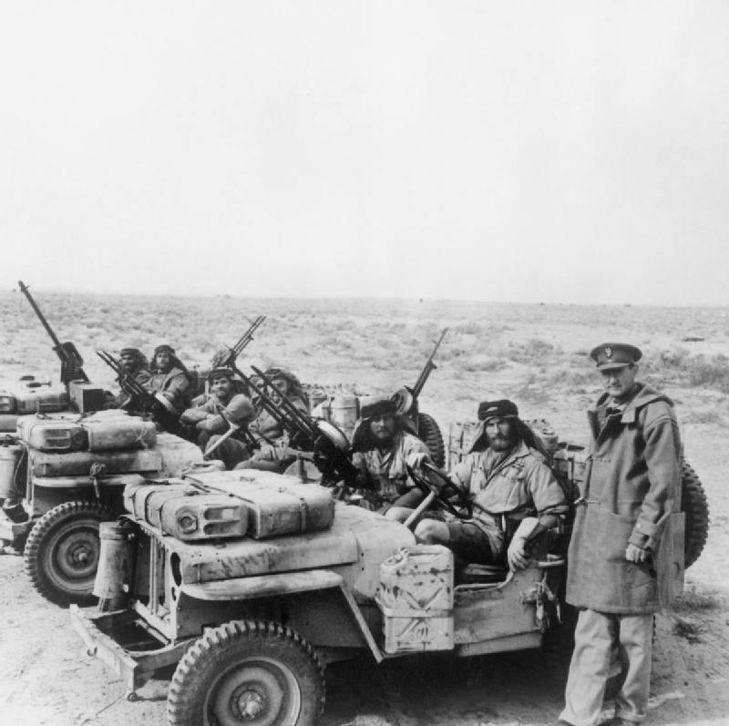 SAS jeeps- the first technicals in history