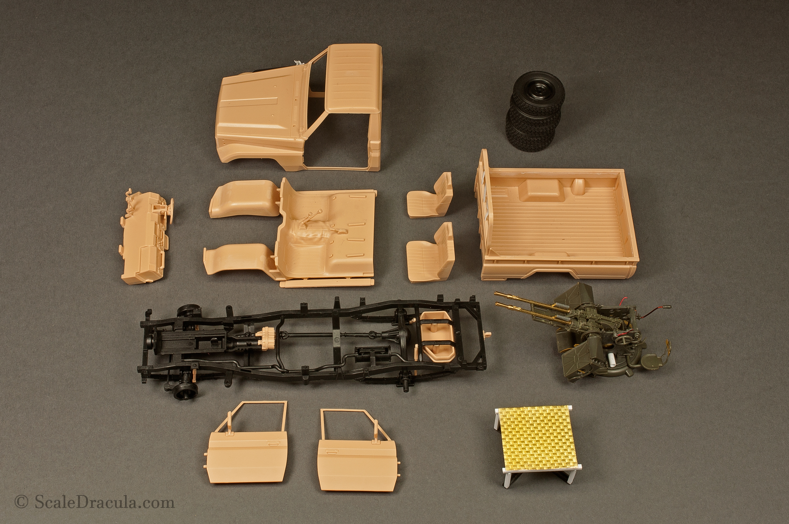 Model ready for painting, Toyota technical by Meng