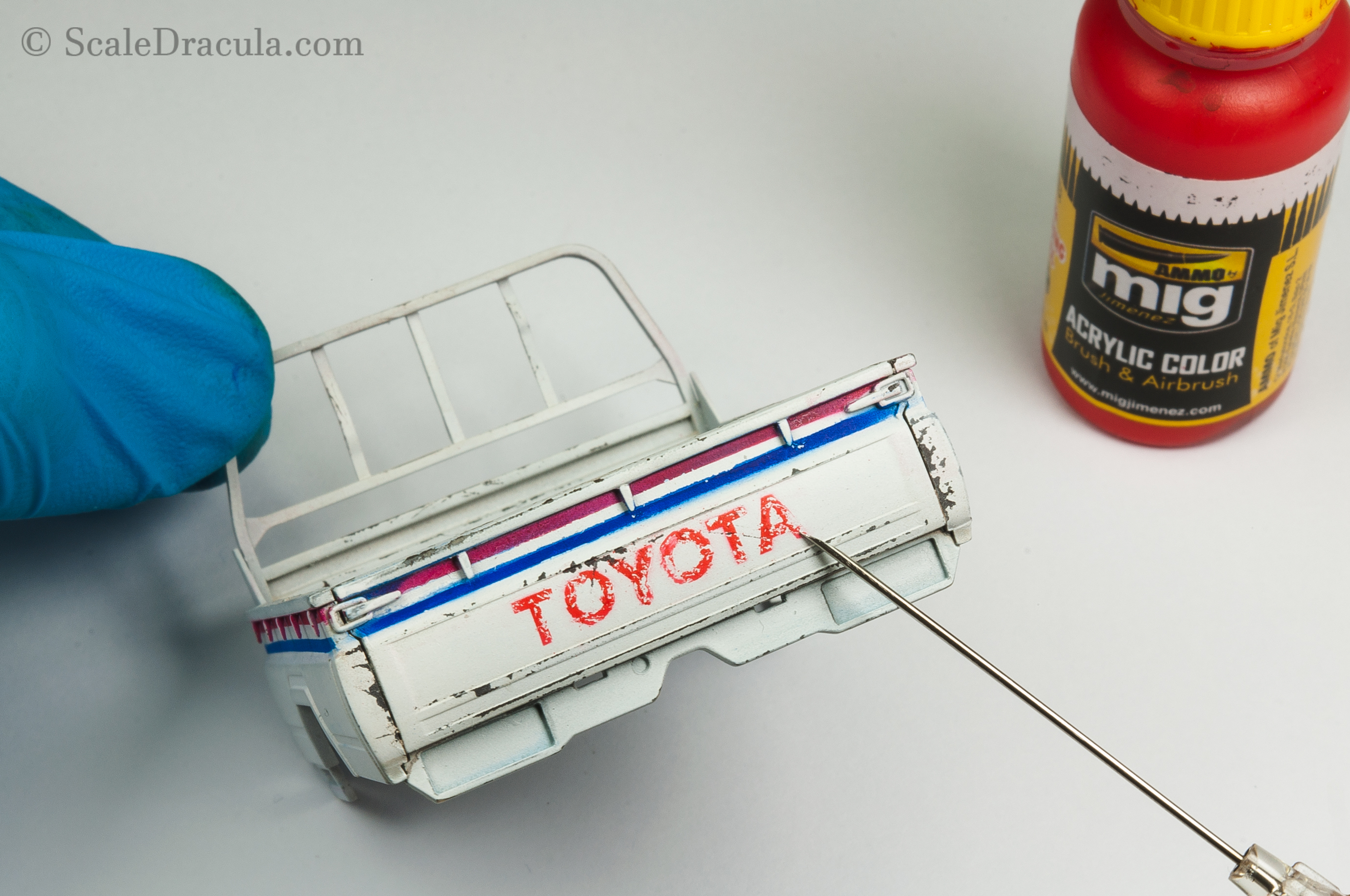 Multi-layered chippping, Toyota technical by Meng