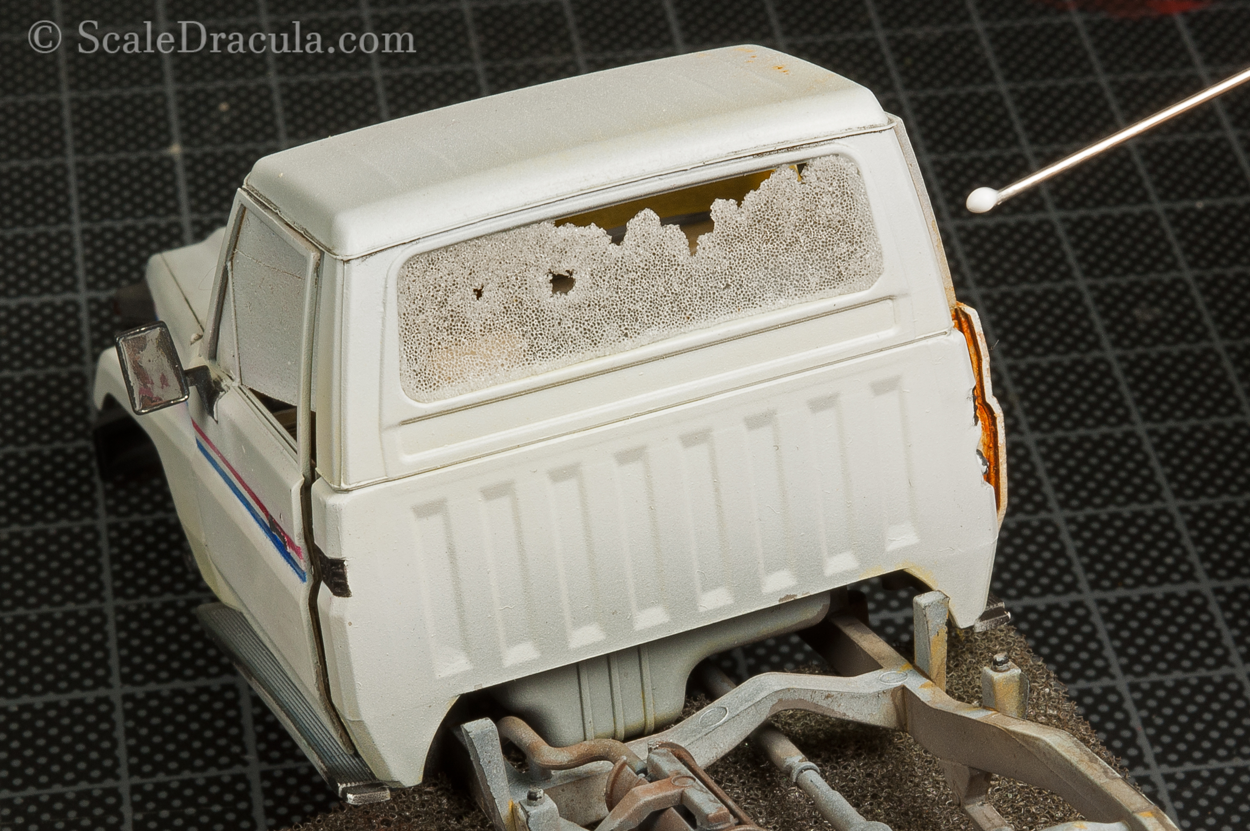 Creating cracked window effect, Toyota technical by Meng